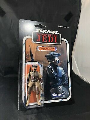Custom Retro  Vintage Collection Star Wars Leia in Boushh Disguise Figure MOC