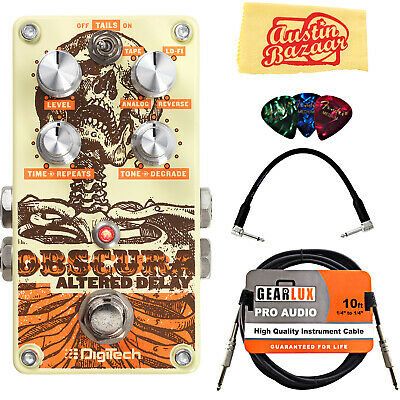 DigiTech Obscura Altered Delay Pedal w/ Cables