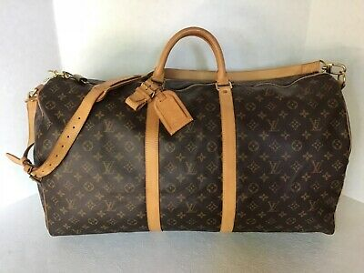 Louis Vuitton Monogram Bandouliere 60 W/strap MB0051 AUTHENTICITY VERIFIED
