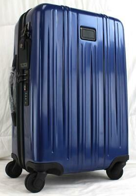 Tumi V3 International Expandable Spinner Carry On Suitcase 228260 Blue