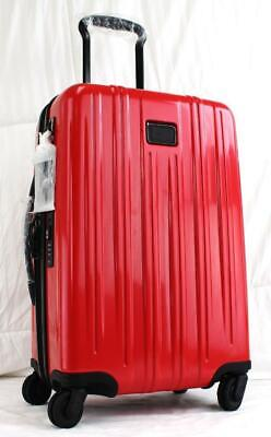 Tumi V3 International Expandable Spinner Carry On Suitcase 228260 Pink