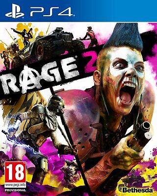 Rage 2 Sony Playstation PS4 Game 18+ Years