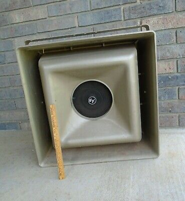 Vintage Electro-Voice MUSICASTER  Projector stadium OUTDOOR SPEAKER large