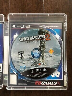 PS3 Uncharted 2: Among Thieves (Sony PlayStation 3, 2009)