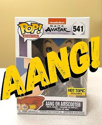 Funko POP Avatar The Last Airbender Aang on Airscooter #541 Hot Topic Exclusive
