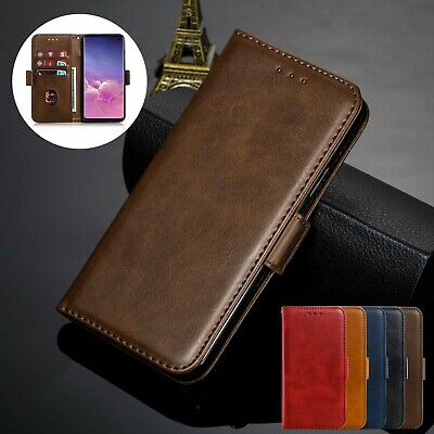 For Samsung Note 10 S10 S9 S8 Plus S7 Case Wallet Flip Leather Card Holder Cover