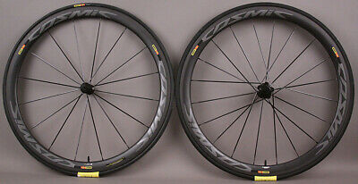 Mavic Cosmic Pro Carbon UST Tubeless Road Bike Wheelset and Tires MSRP $2099