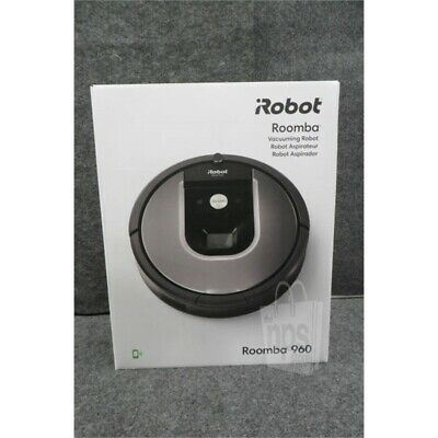 """iRobot 960 Roomba Vacuum Cleaning Robot, Cleaning Path Width 7"""", Wi-Fi Connect"""