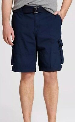 84c47fa2ab NEW MOSSIMO SUPPLY Co. W30 Belted Cargo Shorts Size 30 11.5