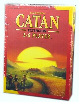 Mayfair Games 3072, Catan (the Settlers of), 5-6 Players Expansion, 5th Edition