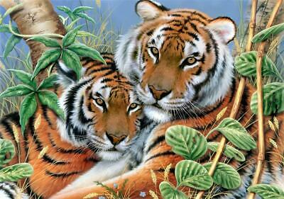 Tender Tigers Tapestry Canvas