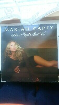"Mariah Carey - Don't Forget About Us -UK 2005 Limited Edition 12"" Vinyl Single."