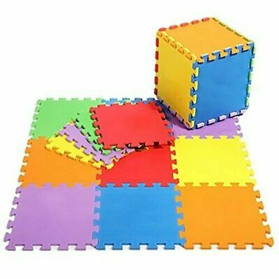 Eva Foam Play Mats Interlocking Floor Baby Kids Gym Exercise Soft Safety Tiles