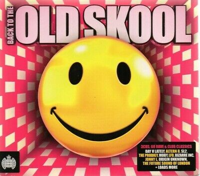 Back To The Old Skool [3 CD Set] Ministry Of Sound VGC *Fast Post*