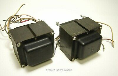 Pair of Heathkit AA-100 Tube Amp Output Transformers / 7591 PP / 549-6010 -- KT