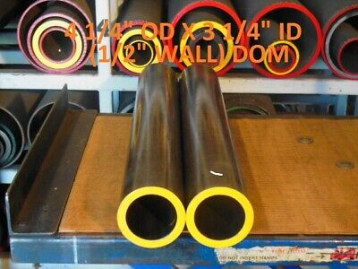 "E0419  Dom Round Steel Tube  4.250 Od  X   3.250  Id  (.500 Wall)   36""  Long"