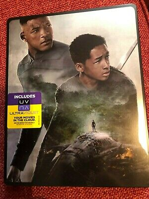 After Earth (Blu-ray, 2013) steel book