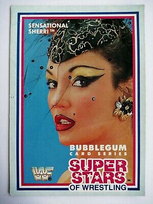 WWF Superstars of Wrestling Cards 1989 - Series 1 - #12 Sensational Sherri