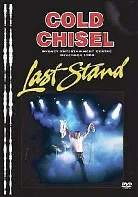 Cold Chisel The Last Stand Remastered DVD Region 0 PAL 5.1 surround NEW