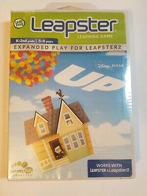 Leapster Game Extended Play NIB Disney Pixar Up K-3 Never Opened Kids 5-8 Years