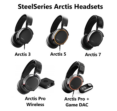 Steelseries Arctis 3 5 7 Pro Wireless Gaming Headset PC PS4 SWITCH XBOX 2019 NEW