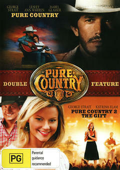 Pure Country / Pure Country 2 - The Gift (DVD, 2013, 2-Disc Set) NEW AND SEALED