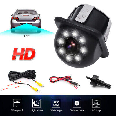 Car Rear Side View Mirror Front Backup Parking Reversing Line Camera IP68 20MM