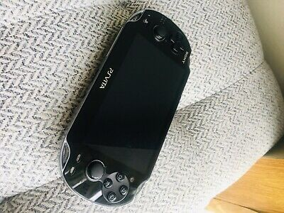 Sony PS Vita - PCH-1101 1GB Black Handheld System Excellent Condition