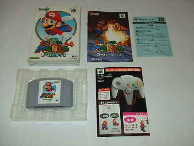 Super Mario 64 Boxed A with Manual Nintendo 64 N64 NTSC-J Japan import