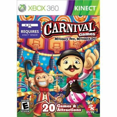 Carnival Games: Monkey See Monkey Do For Xbox 360 Very Good