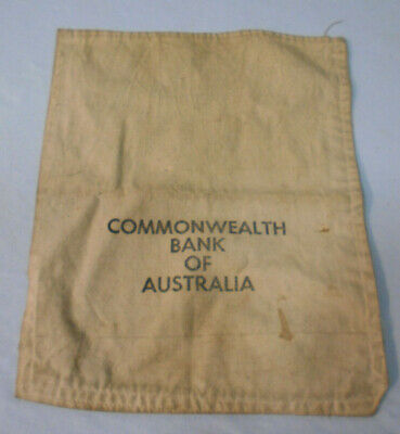 #Yy10.   Commonwealth Bank Of Australia  Money Bag