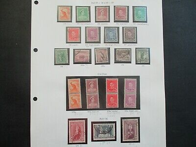 ESTATE: Australian Pre Decimal (Used) Collection on Pages - Must Have!! (367)