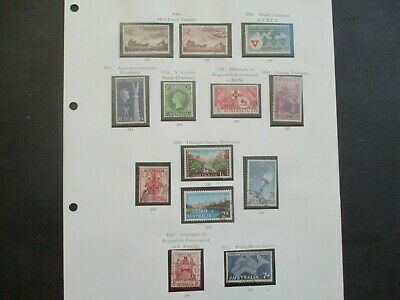 ESTATE: Australian Pre Decimal (Used) Collection on Pages - Must Have!! (383)