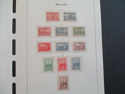 ESTATE: Australian Pre Decimal (MINT) Collection on Pages - Must Have!! (415)