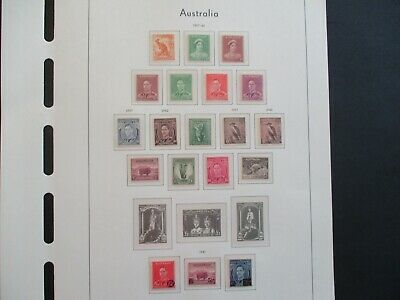 ESTATE: Australian Pre Decimal (MINT) Collection on Pages - Must Have!! (416)
