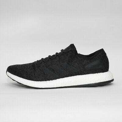 Mens Adidas Pure Boost Core Black Trainers (TGF28) RRP £94.99 BIG SIZES!!!