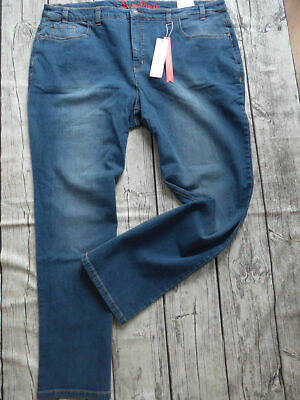 SHEEGO DENIM Stretch Jeans 100% Baumwolle Damen Jeans blue