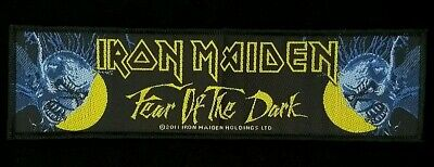 Iron Maiden - Fear Of The Dark Superstrip Patch - metal band merch