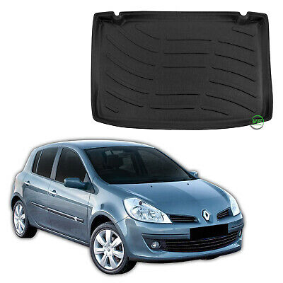 RENAULT CLIO mk3 HTB 2006 - 2012  Tailored Boot tray liner car mat Heavy Duty