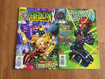 Generacion x volumen 2 numeros 36 y 37 comics MARVEL forum