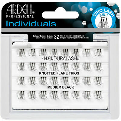 Ardell professional 100% human hair false strip lashes Individuals medium black