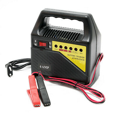 Car Battery Charger 6V 12V 6A Battery Jump Starter Rechargeable Battery