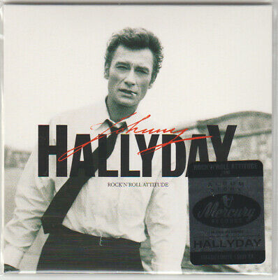 JOHNNY HALLYDAY Rock'n'roll attitude ALBUM STORY PAPER SLEEVE CD Tirage Limité