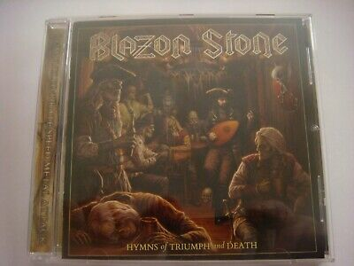 Blazon Stone - Hymns Of Triumph And Death NEW 2019  Stormspell Records 