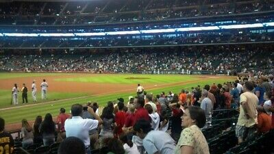 6 AWESOME seats BOSTON RED SOX @ HOUSTON ASTROS May 25th - Section 107 row 20
