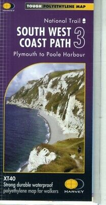 South West Coast Path 3 XT40: Plymouth to Poole Harbour (Map)