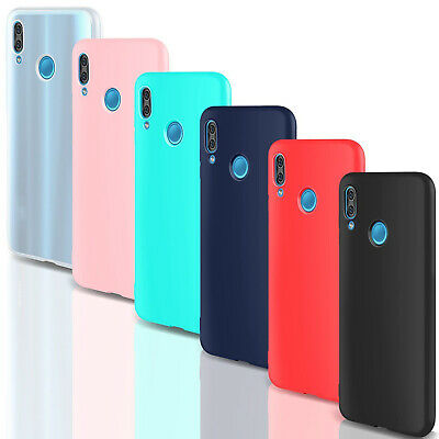 COVER Custodia Morbida SOFT Slim GEL Silicone per Huawei P20 Lite