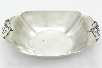 Vintage Arts & Crafts Cellini Craft Handwrought Sterling Silver Candy Bowl