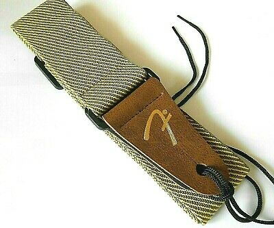 Retro Vintage Tweed Adjustable Acoustic,Electric Or Bass Guitar Strap - New