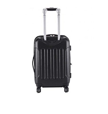 "Expandable 20"" Rolling Carry On Luggage Travel Suitcase Lightweight & Durable"